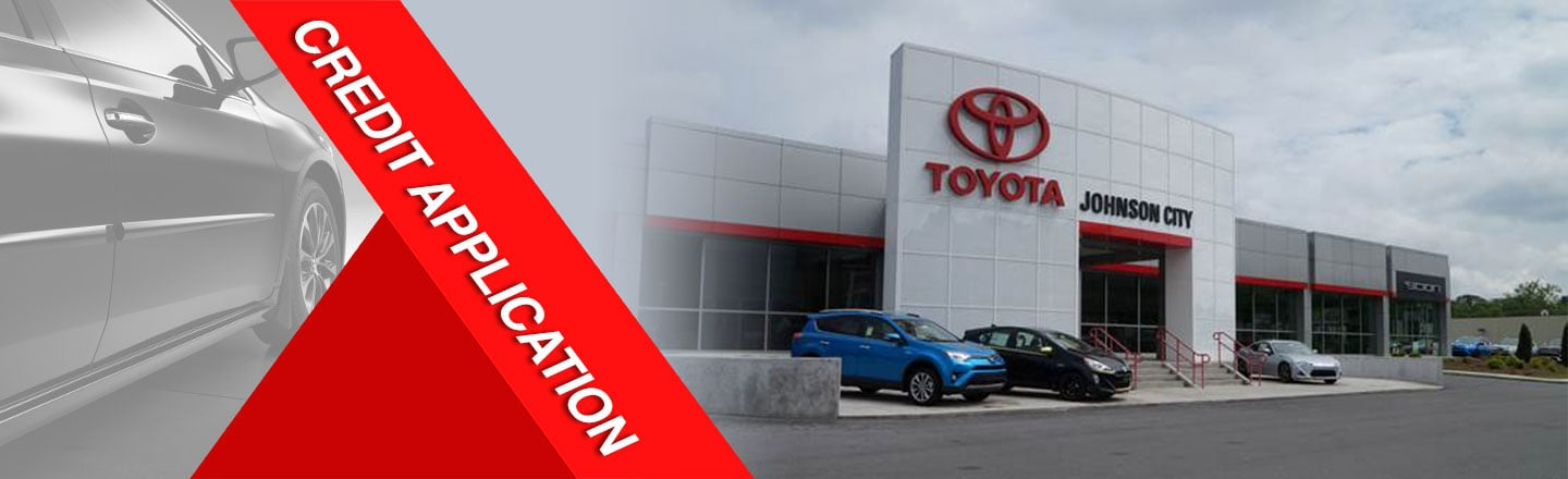 apply for credit in Johnson City Toyota, TN