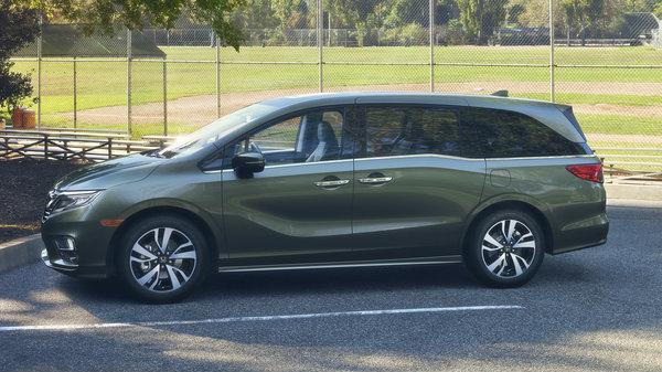 2018 Honda Odyssey near Glens Falls