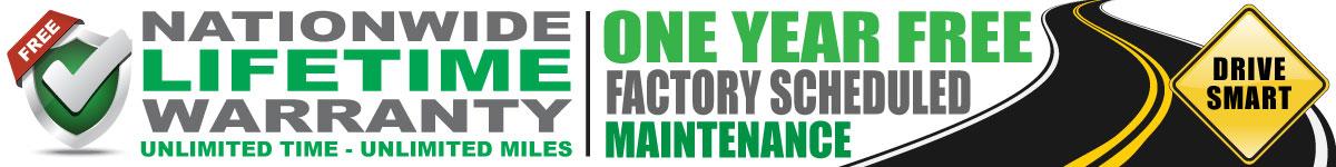 Lakeland Ford Nationwide Lifetime Warranty