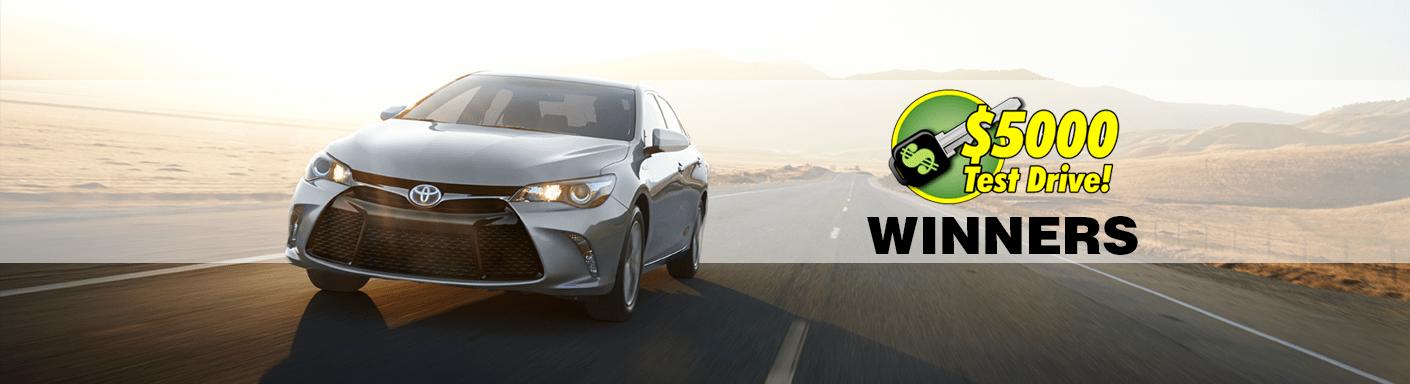 Test Drive Winners