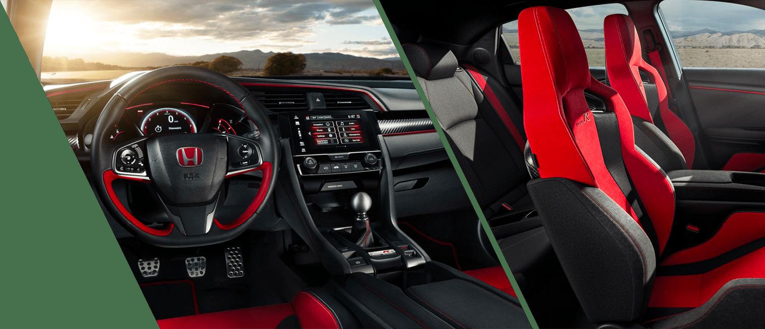 Interior Shots of the New 2018 Civic Type R at DCH Honda of Nanuet