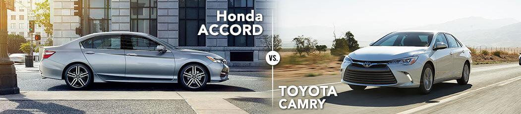 Honda Accord vs. Toyota Camry