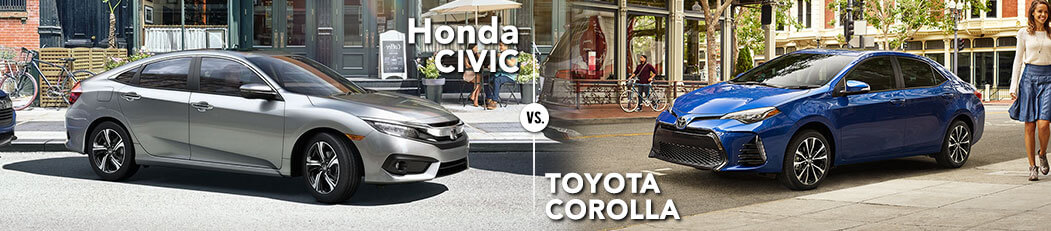 Honda Civic vs. Toyota Corolla