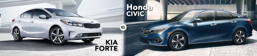 Honda Civic vs. Kia Forte