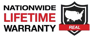 Nationawide Lifetime Warranty Logo