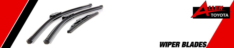 New Replacement Wiper Blades in Gulfport, MS J. Allen Toyota