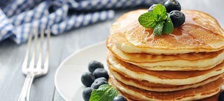 Free Pancakes on Saturday