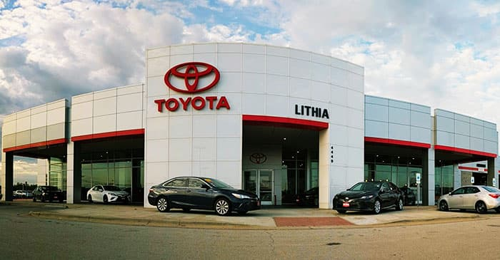 Click here to contact Toyota of Abilene
