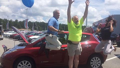 Nissan LEAF Giveaway - June 2017
