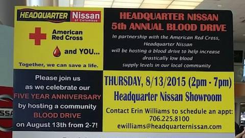 5th Annual Blood Drive