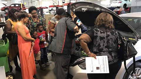 2017 HEELS 'N' WHEELS Ladies Car Care Clinic