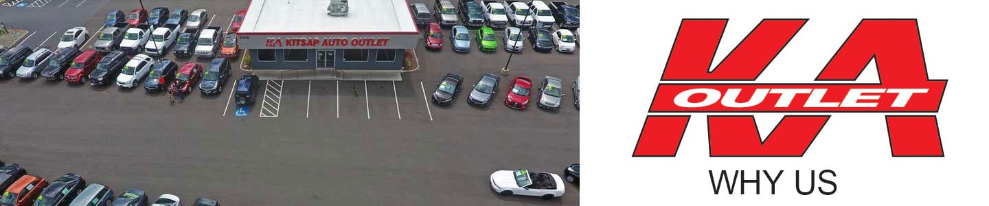 Why Buy From Kitsap Auto Outlet, In Port Orchard, WA