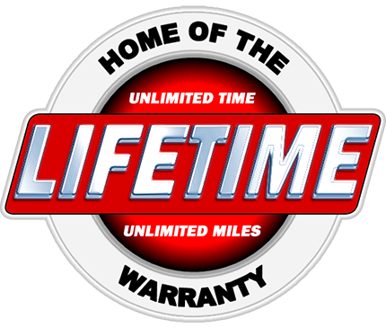 Home of the Unlimited Lifetime Warrany