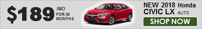 Shop 2018 Honda Civic LX Now