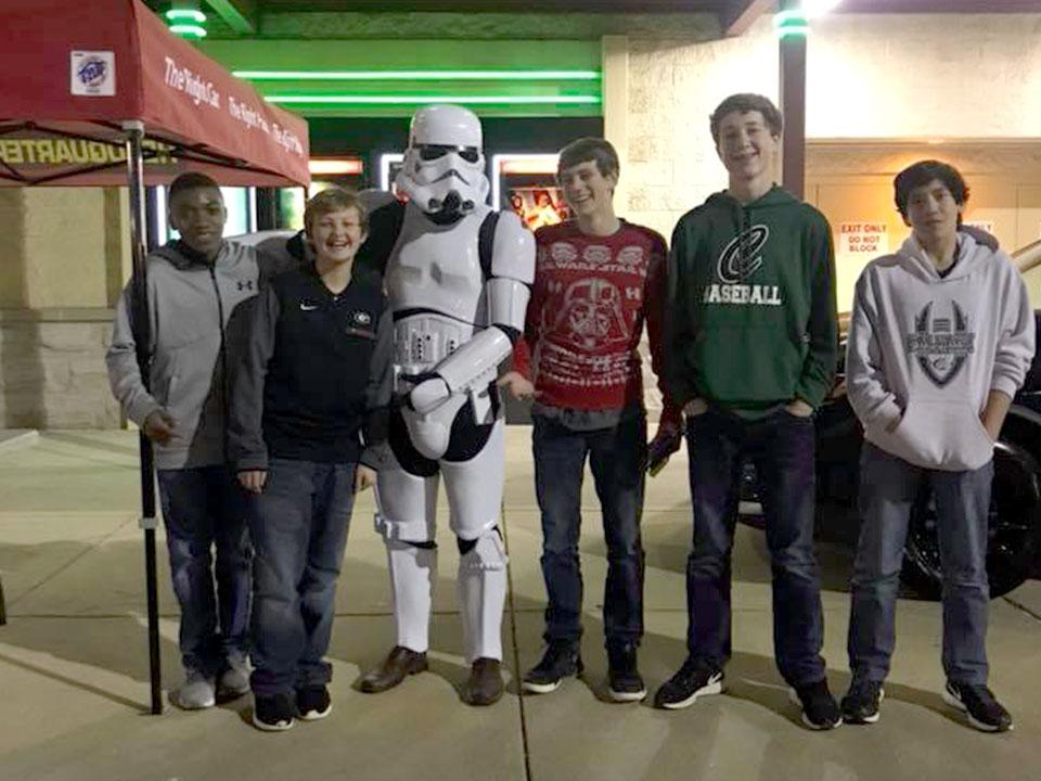 Star Wars Movie Premiere 2017