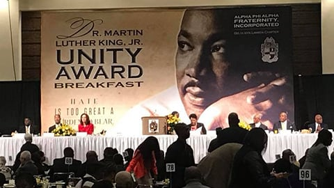 32nd Annual Dr. Martin Luther King, Jr Unity Award Breakfast
