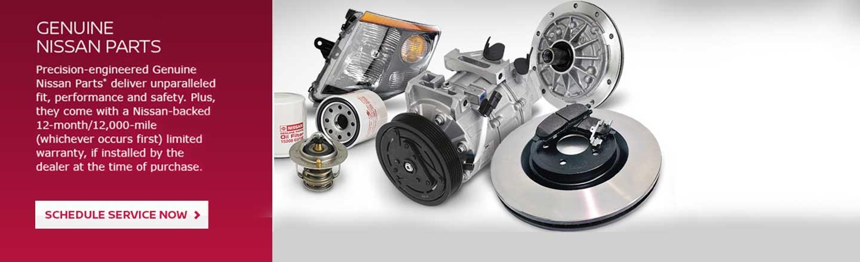 Nissan parts deparment of medina Ohio vehicle assistance