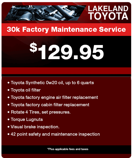 30K Factory Maintenance Service