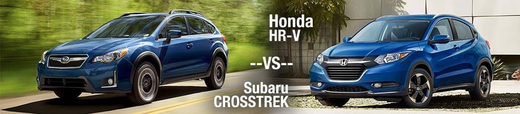 2018 Honda HR-V vs. 2018 Subaru Crosstrek