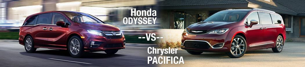 2018 Honda Odyssey vs. 2018 Chrysler Pacifica
