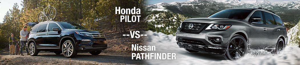2018 Honda Pilot vs. 2018 Nissan Pathfinder