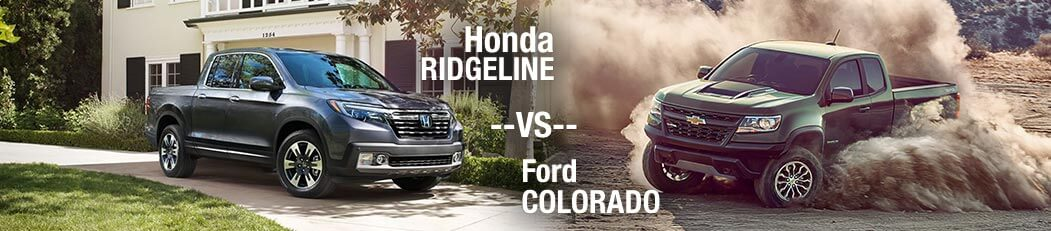 2018 Honda Ridgeline vs. 2018 Chevrolet Colorado