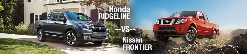 2018 Honda Ridgeline vs. 2018 Nissan Frontier