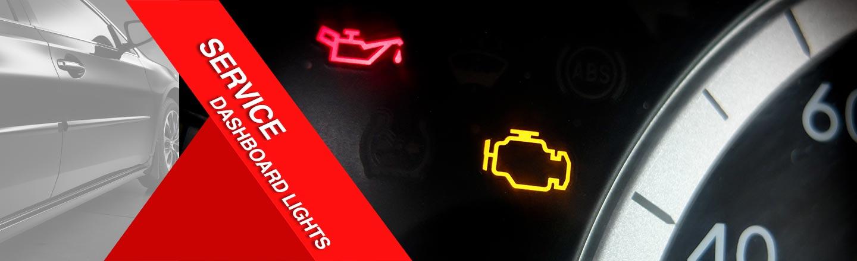 Service Dashboard lights