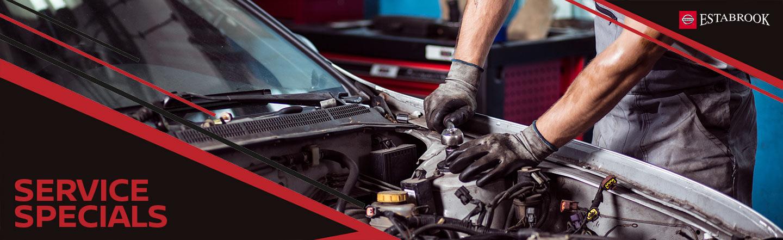 Service and Parts Specials Estabrook Nissan