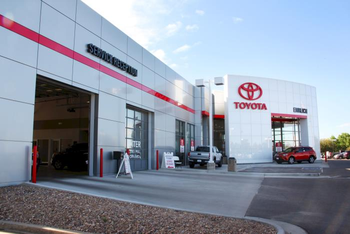 Ehrlich Toyota's Service Center