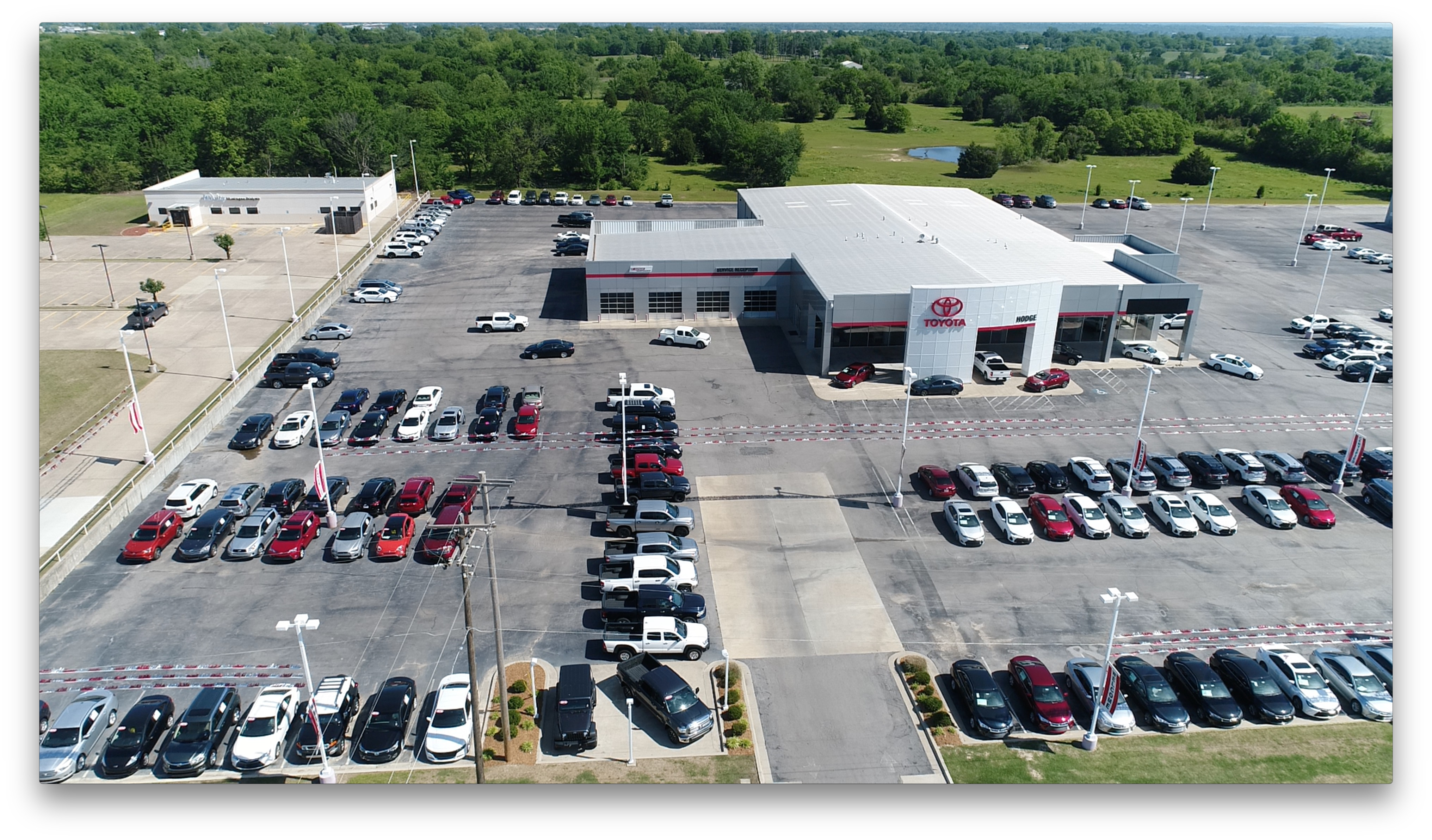 Service Department at James Hodge Toyota in Muskogee, OK