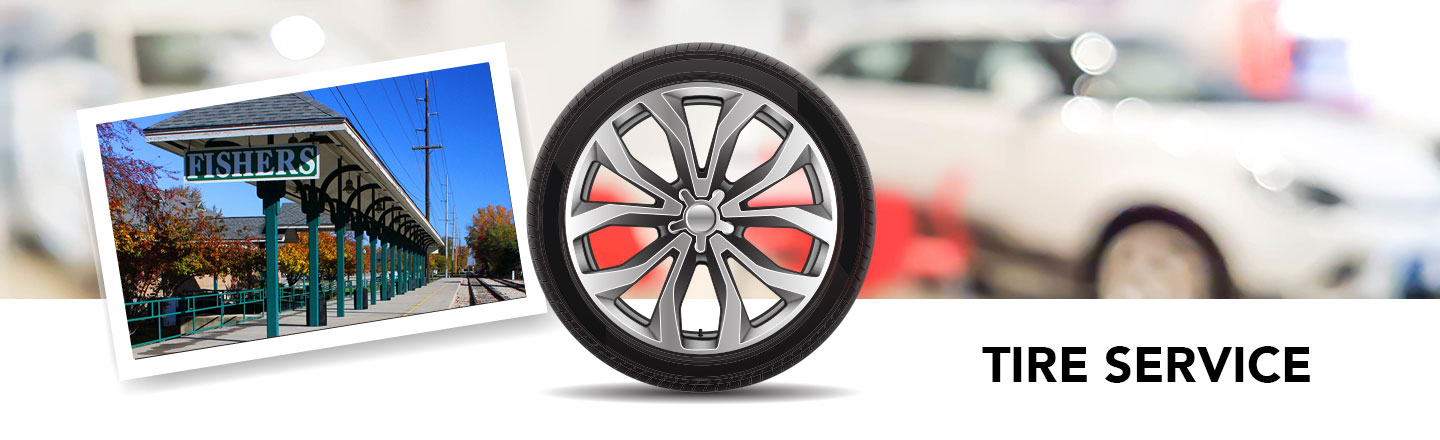 car tire service in Fishers, IN