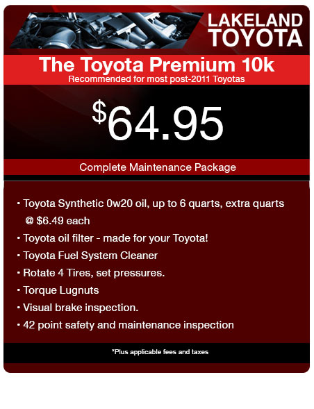 The Toyota Premium 10k