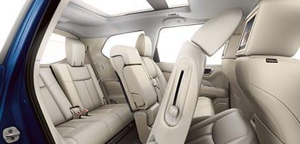 Interior 2018 Nissan Pathfinder
