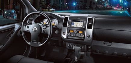 Interior 2018 Nissan Frontier