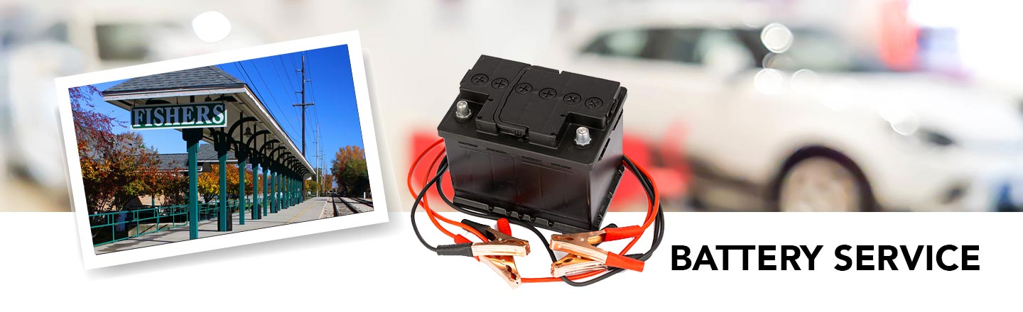 car battery service in Fishers, IN