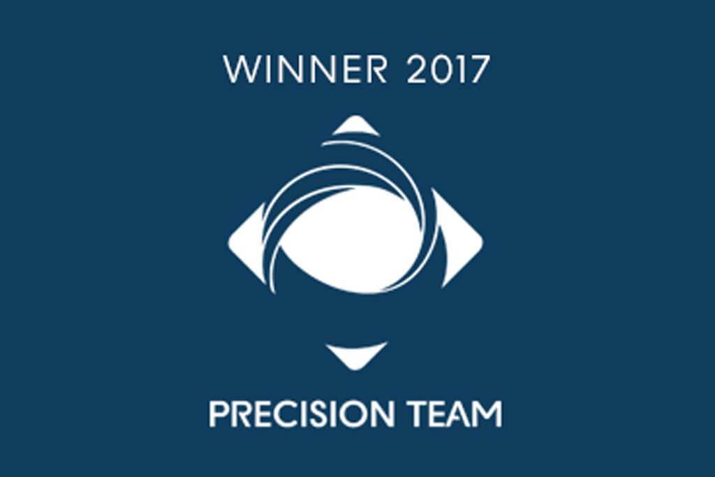 Winner 2017 Precision Team