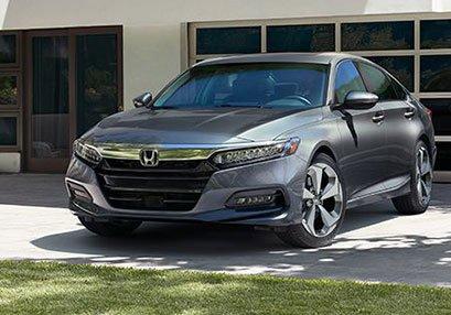 New grey accord on lawn