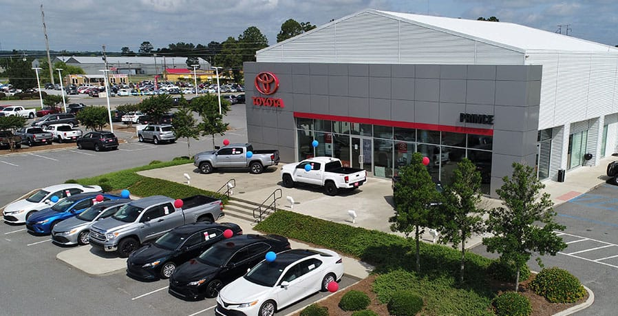 prince toyota dealership photo