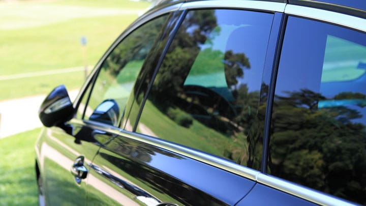 image of a car windows