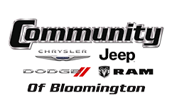 Schedule a test drive at Community CDJR Bloomington
