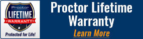 Proctor Lifetime Warranty