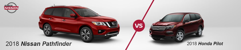 Nissan Pathfinder vs. Honda Pilot In Little River, SC