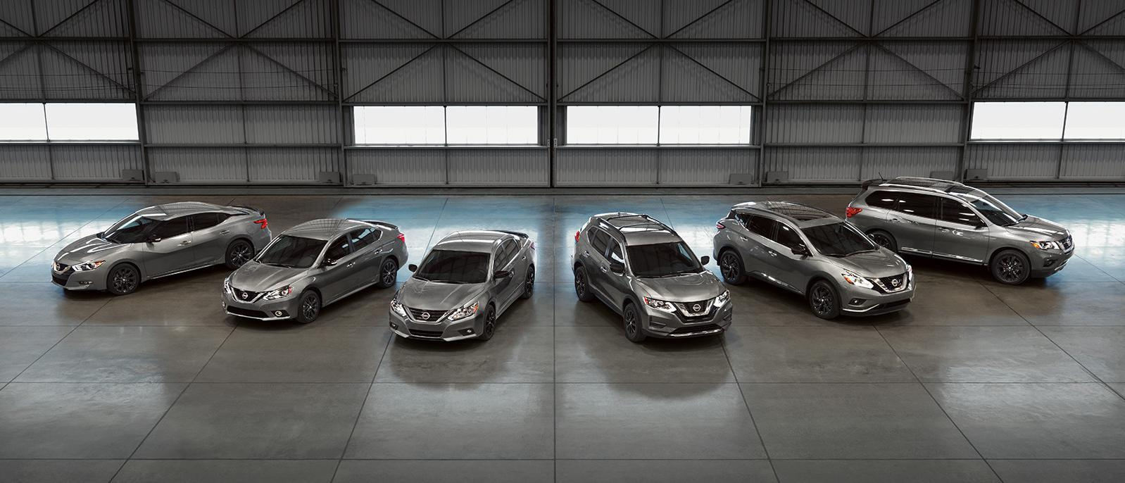 about us nissan vehicle lineup