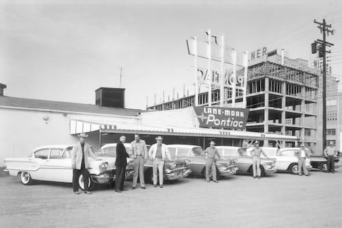 1946 Lane Moak Pontiac