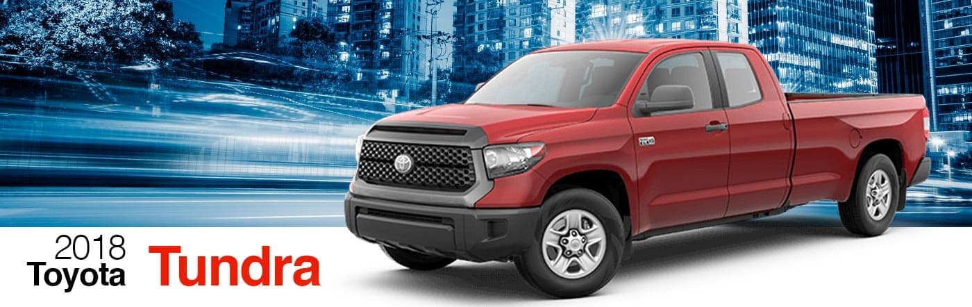 2018 Red Exterior Tundra On Road at Stevinson Toyota