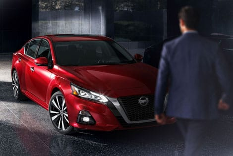 red nissan altima 2019 model exterior