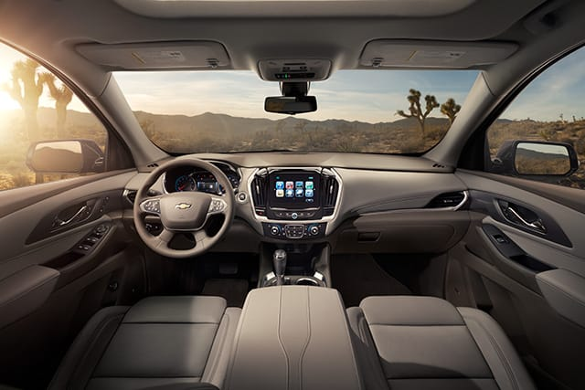 Interior 2018 Chevrolet Traverse
