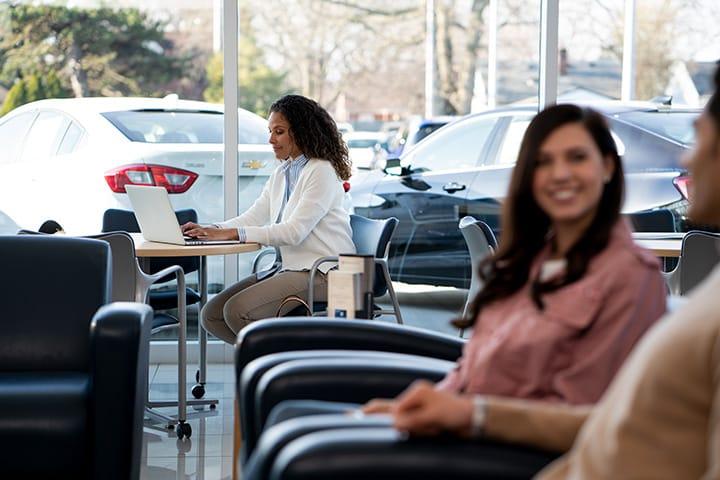 Chevrolet waiting room