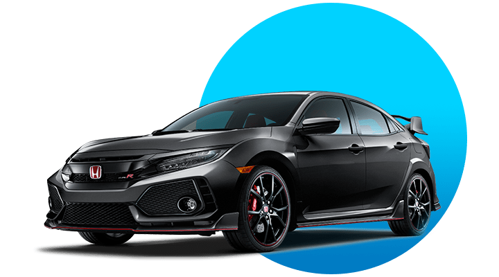 Honda Civic R-Type Black Image